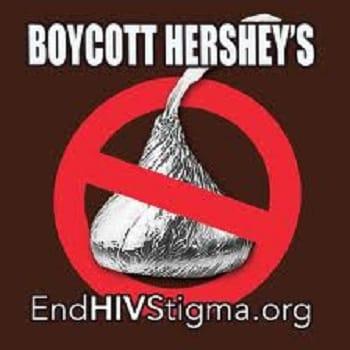 Компания Хёршис, дискриминирует людей с ВИЧ. Подпишите петицию к компании