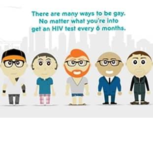 Уровень охвата тестированием влияет на развитие эпидемии среди гей сообщества