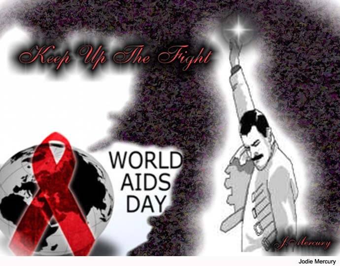 Группа QUEEN продолжает свою борьбу с эпидемией ВИЧ
