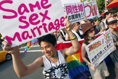 Буддийский храм в Японии венчает ЛГБТ пары