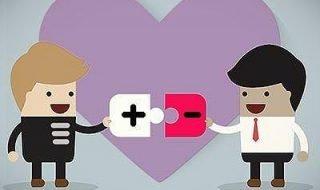 HIV Discordant gay couple