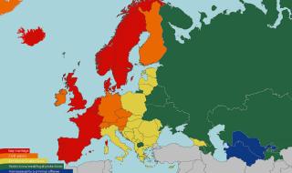 В Европе заболеваемость ВИЧ-инфекцией продолжает расти среди геев