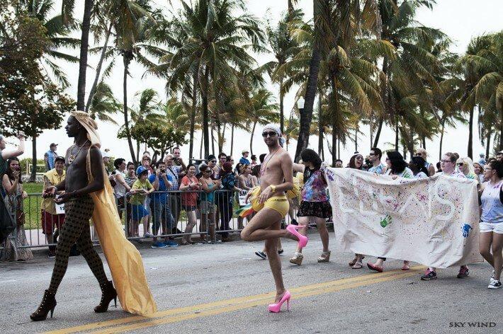 Океан и радуга Майами