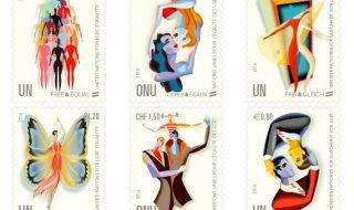 ООН выпустила марки в поддержку ЛГБТ
