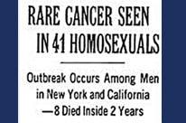 Когда СПИД был раком