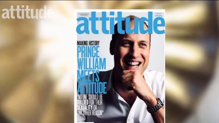 Принц Уильям снялся для обложки гей-журнала