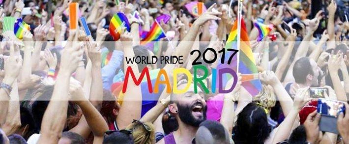 Всемирный парад гордости в Мадриде 2017