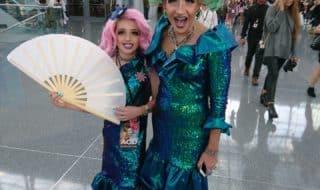 В Нью-Йорке прошли выставки ЛГБТ и травести-шоу