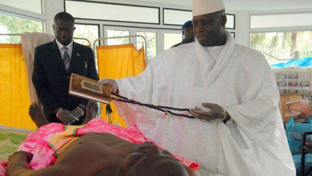 Президент Гамбии убивал людей с ВИЧ тысячами