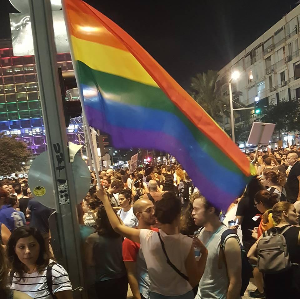 Израиль охватили массовые акции протеста в поддержку ЛГБТ
