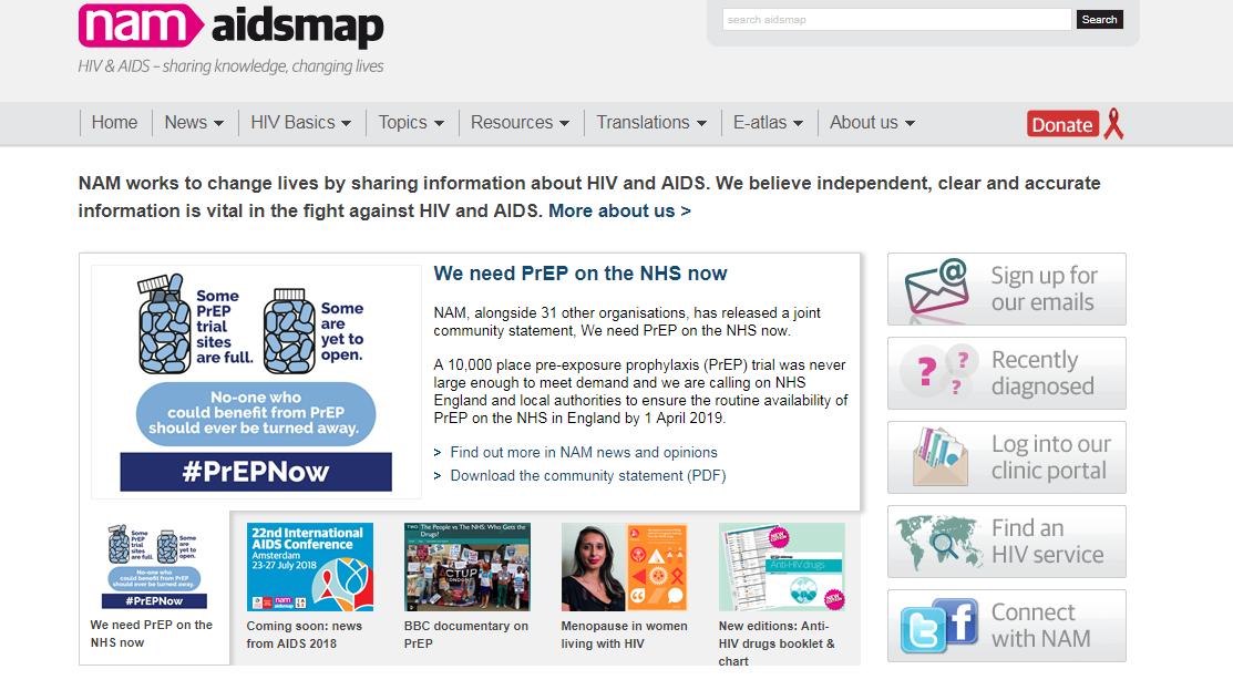 Пять сайтов о ВИЧ заслуживающие доверие