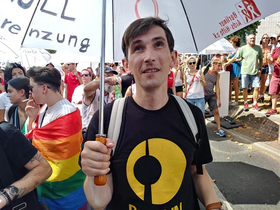 Русскоговорящие наркопотребители Берлина поддержали ЛГБТ-движение