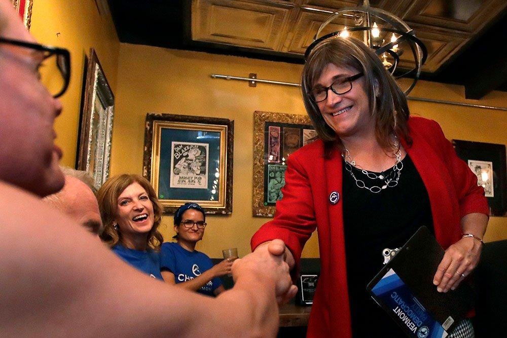Трансгендерная женщина поборется за место губернатора Вермонта
