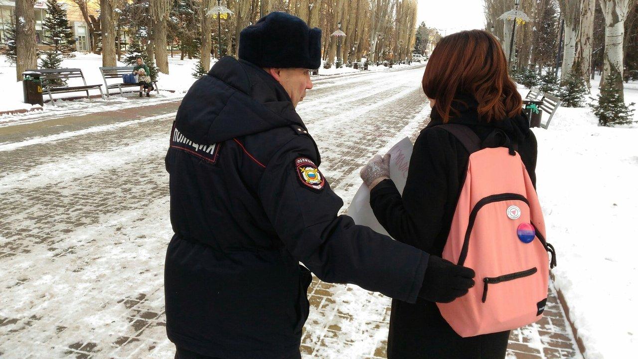 Как полиция и казаки сорвали ЛГБТ-акцию в Волгограде