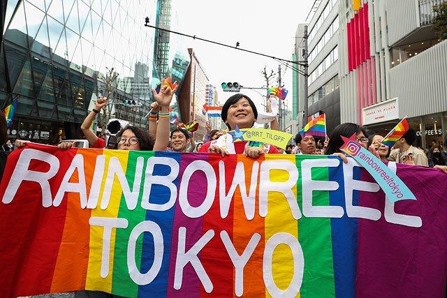 В Токио прошёл 25-ый ЛГБТ-прайд (ФОТО)