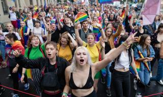 ЛГБТ-марш в Польше