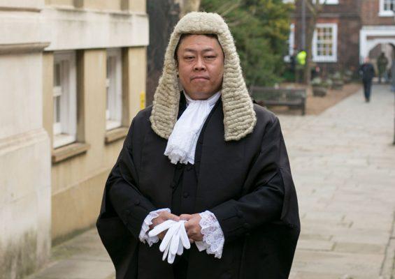 Британский судья