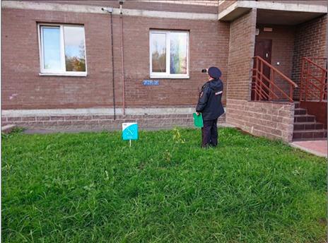 Полиция заставила петербуржца снять с окна ЛГБТ-флаг из-за жалоб соседей