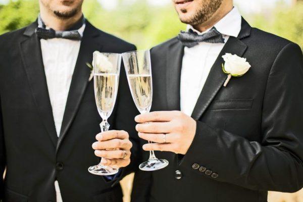 гей-свадьба в Нью-Йорке
