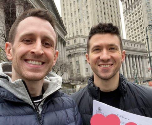свадьба геев