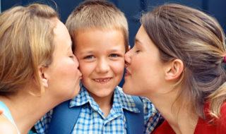 в однополых семьях