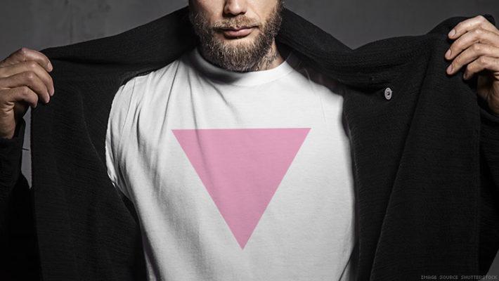 Розовый треугольник