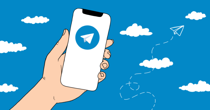 телеграм-