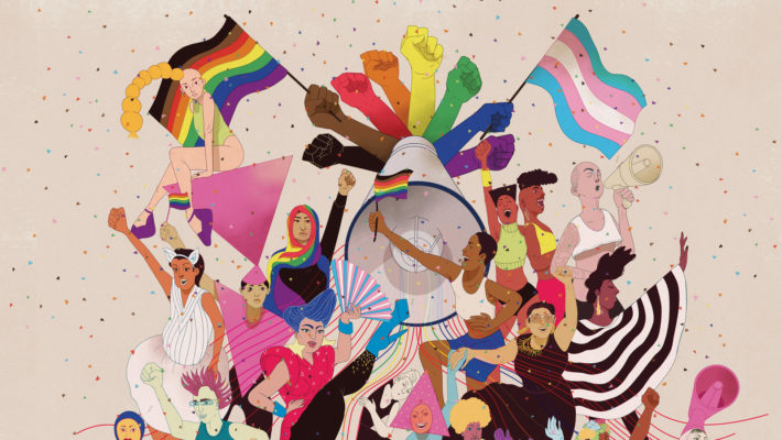 истории ЛГБТ