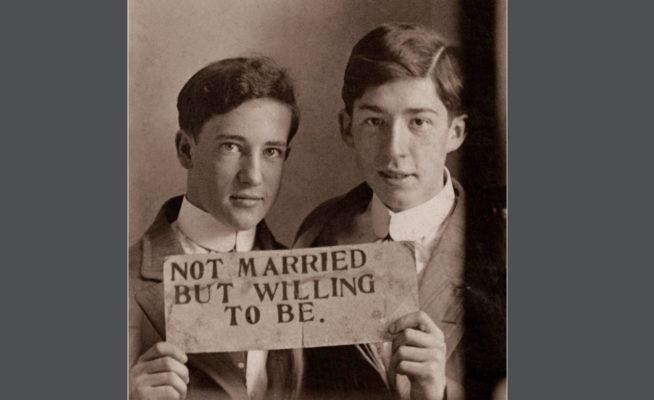 фотохроника влюблённых мужчин
