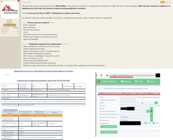 В Великом Новгороде хакер продает данные пациентов с ВИЧ