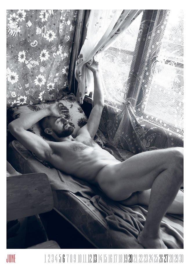 Календарь Севы Галкина назван в числе лучших американским ЛГБТ-журналом