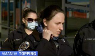 офицер полиции лесбиянка