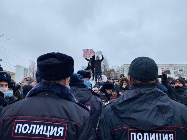 орел протесты