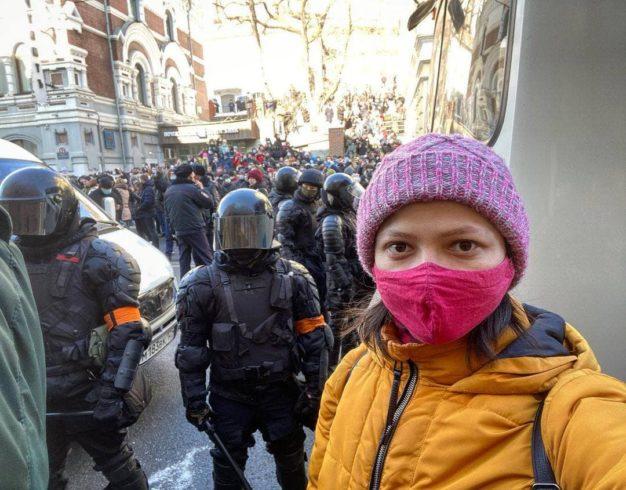 протесты владивосток