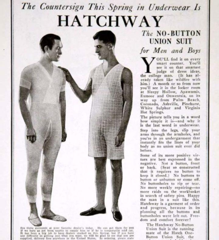 История мужского белья