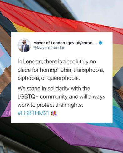 Мэр Лондона обещает добиться нулевой передачи ВИЧ к 2030 году