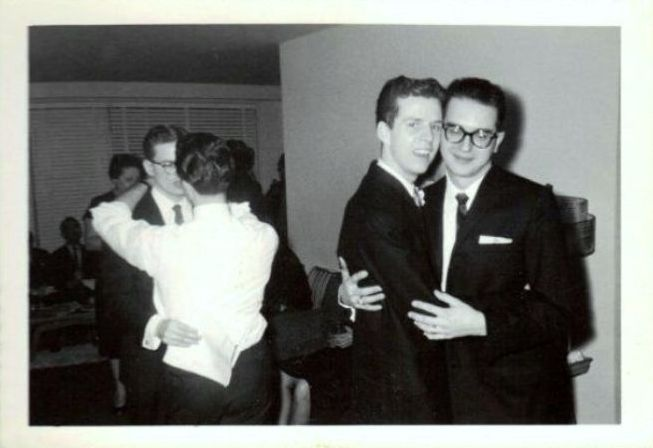 Свадебные фото гей-пары 50-х