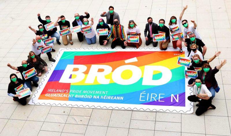 В Ирландии вышла марка в честь Месяца ЛГБТ-гордости