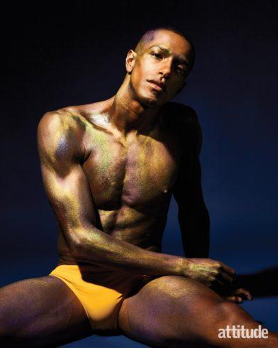 Пловец Майкл Ганнинг стал звездой обложки гей-журнала «Attitude»