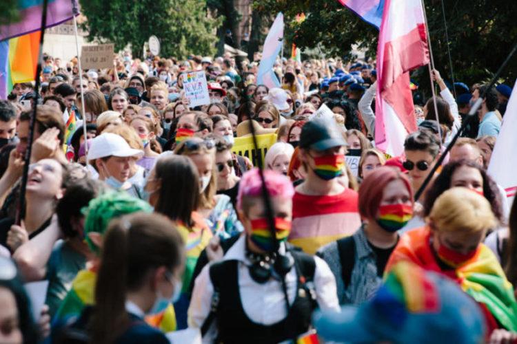 Марш «Харьков-Прайда» успешно прошёл в Украине